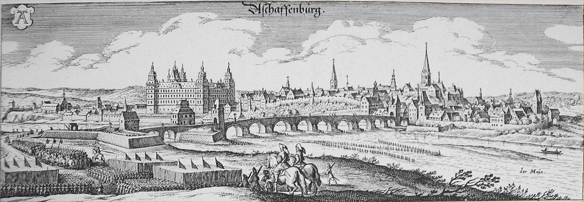 Die geschichte der stadt aschaffenburg for B b aschaffenburg